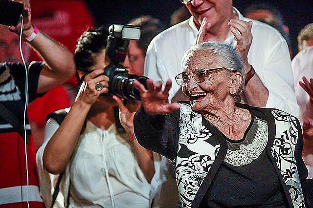 A los 92 años, la militante es uno de los rostros más fuertes de la lucha por la tierra en Brasil
