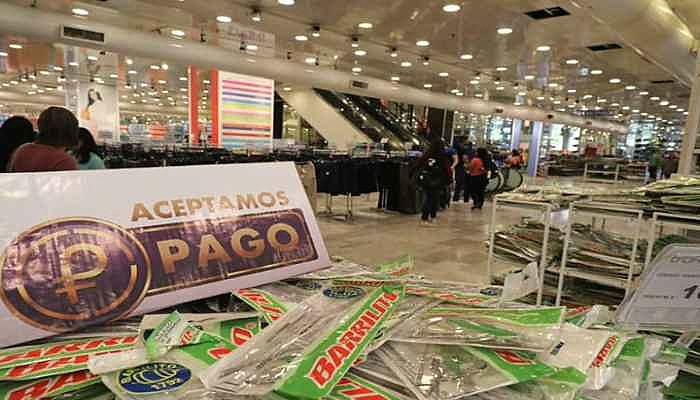 Lojas Traki e CLAP são duas gigantes que já aceitam pagamento em Petro
