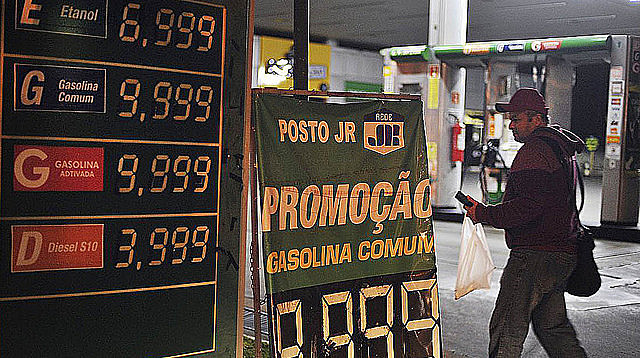 Nationwide trucker strike caused fuel shortage and price hikes at gas stations all over Brazil