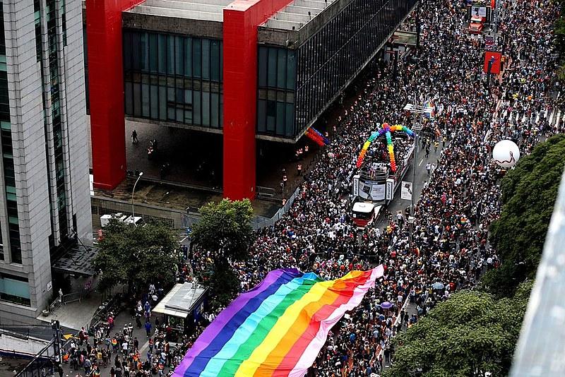 A 23ª edição da Parada Gay em São Paulo reuniu mais de 3 milhões de pessoas na Avenida Paulista