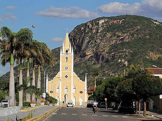 Capela de São Sebastião, hoje, Igreja Matriz, é o marco de fundação do povoado em 1856
