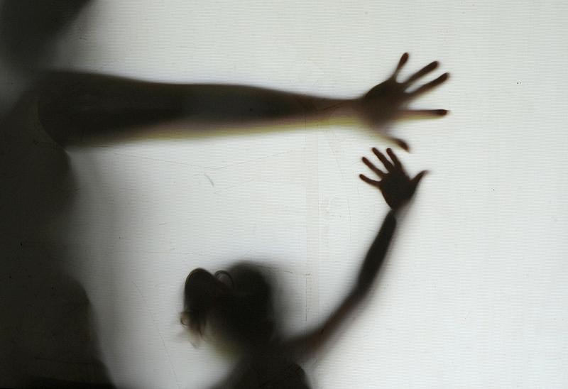Cena de violência doméstica