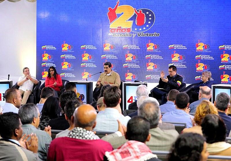 """No encontro, Maduro expressou: """"Não pedimos para estar no epicentro dos processos mundiais de hoje"""""""