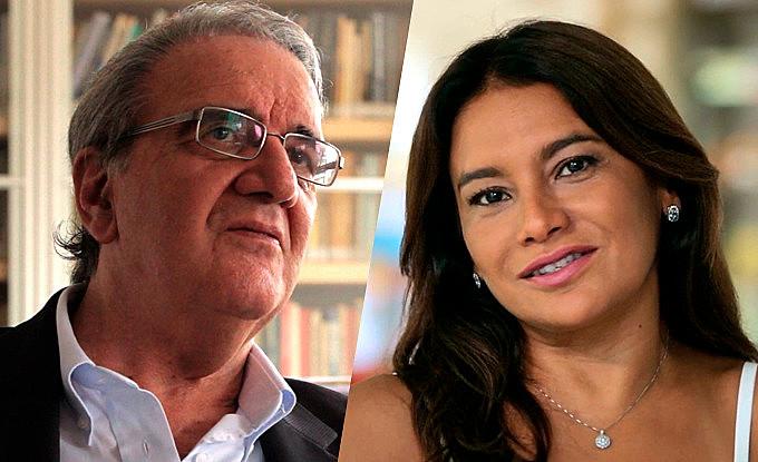 Economista Luiz Gonzaga Belluzzo, 75; e a atriz Dira Paes, 49