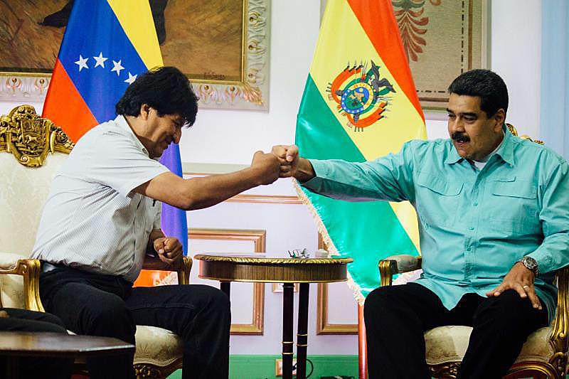 """Segundo Morales, """"as ameaças dos Estados Unidos contra a Venezuela são ameaças à convivência pacífica na América Latina"""""""