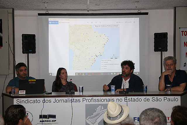 Journalist Alceu Castilho pointed out many incidents are not reported