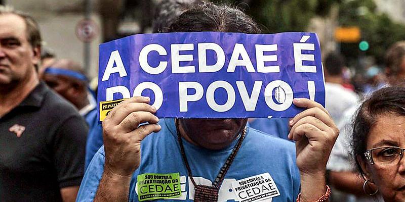 Privatização é uma das contrapartidas ao empréstimo concedido pelo governo federal ao Rio de Janeiro