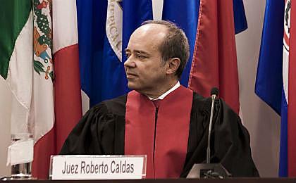 O jurista Roberto Caldas, presidente da Corte Interamericana de Direitos Humanos