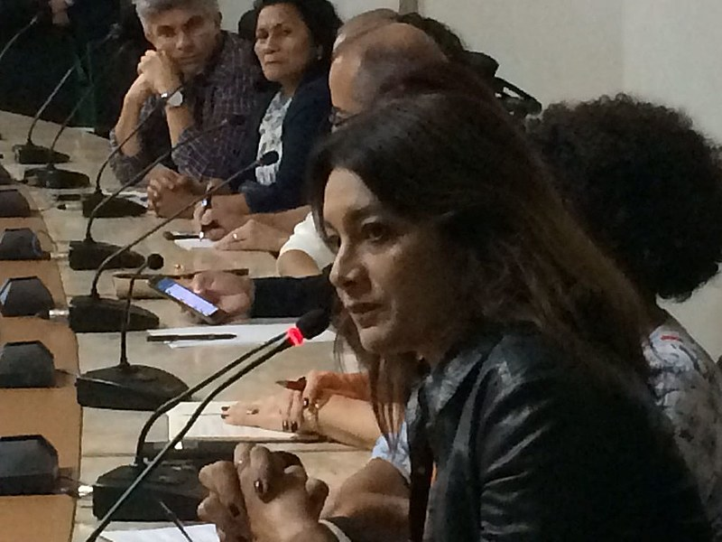 Participam o Movimento Humanos Direitos - da atriz Dira Paes (foto) -, MST, CUT, CPT, Contag, Sociedade de Direitos Humanos, entre outros