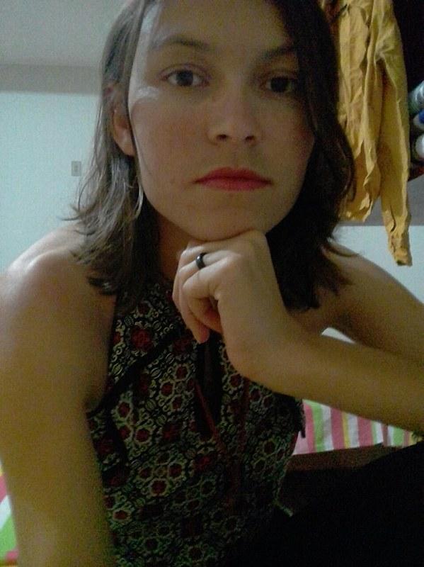 Hérica é militante da Pastoral da Juventude Rural (PJR) em Pernambuco