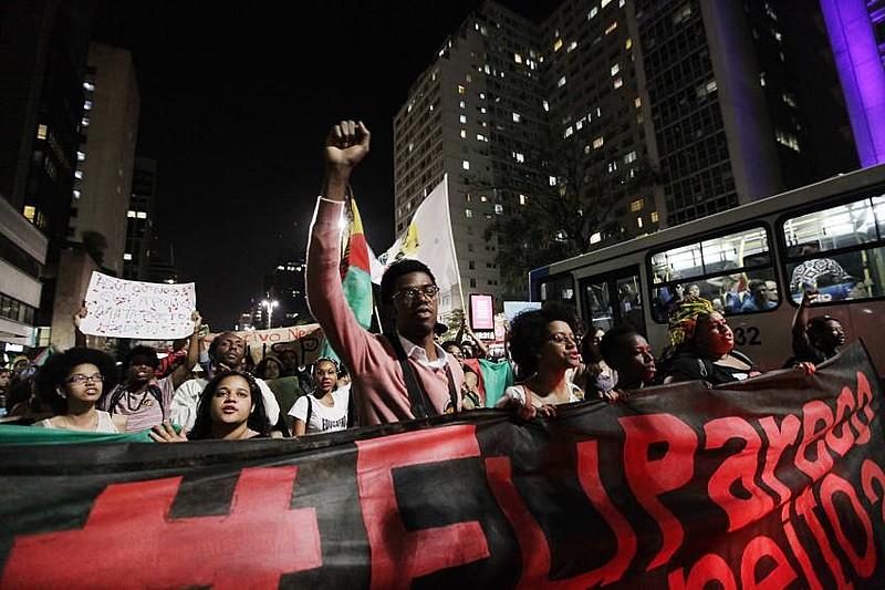 2ª Marcha Internacional pelo fim do extermínio do povo negro, em São Paulo