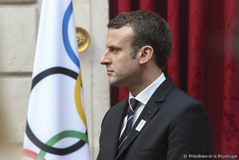 Emmanuel Macron assumiu a presidência do país europeu em 14 de maio