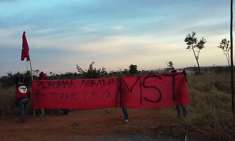 Ocupação integra a Jornada Nacional de Luta por Terra, Reforma Agrária e por Justiça, que teve uma série de ações na última semana
