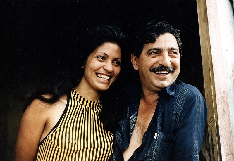 Chico Mendes e sua esposa Ilsamar Mendes