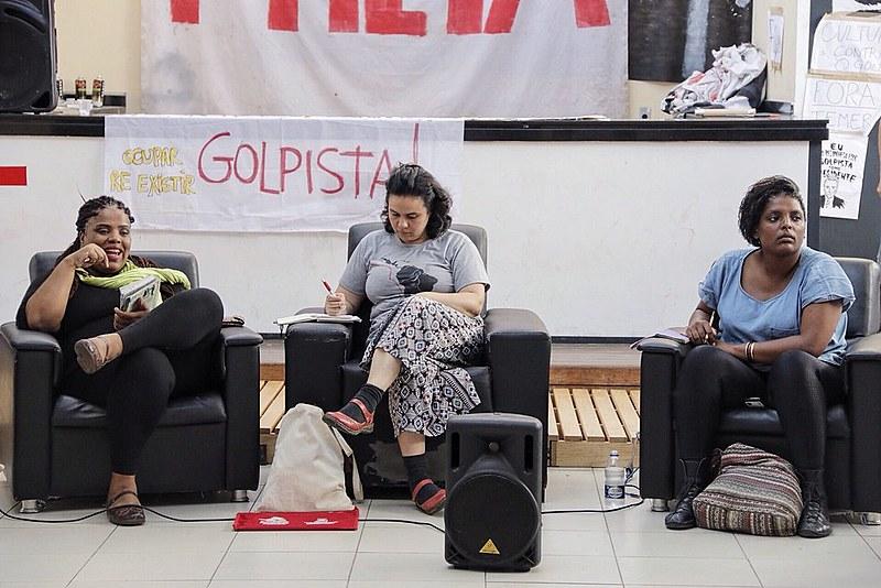 Ativistas promoveram debate sobre a relação entre o Estado e a cultura
