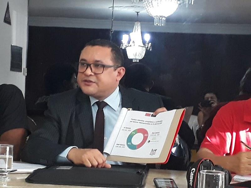 Representante venezuelano esteve em Belo Horizonte para lançar campanha #TrumpUnblockVenezuela