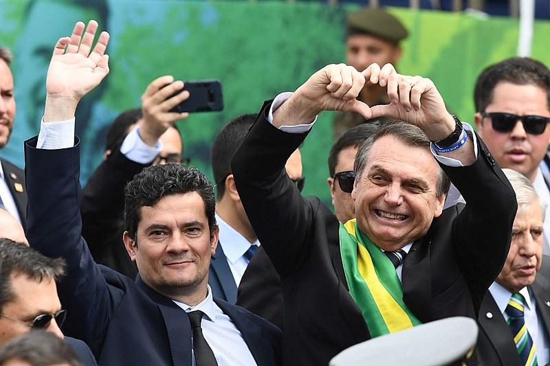 Moro viu a  necessidade de afastar-se de Bolsonaro para promover sua própria carreira política