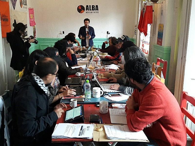Inicia en Buenos Aires reunión de Coordinación Política de ALBA Movimientos