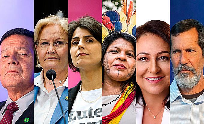 Candidatos a vice-presidente ganham destaque nas eleições de 2018