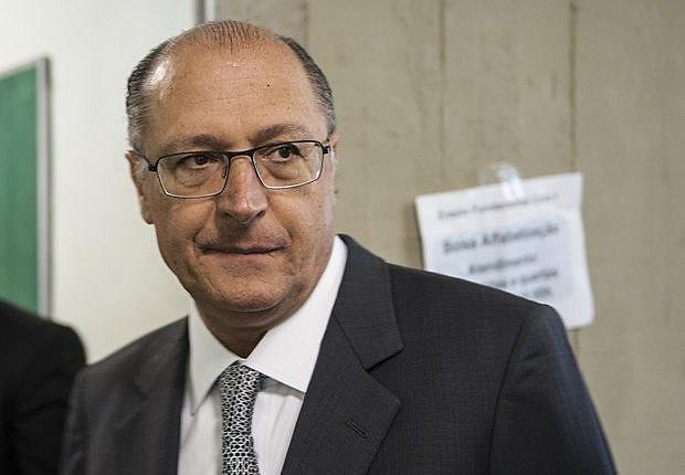 """Candidato tucano, Geraldo Alckmin recebeu apoio de legendas que integram o auto-denominado """"centrão"""""""