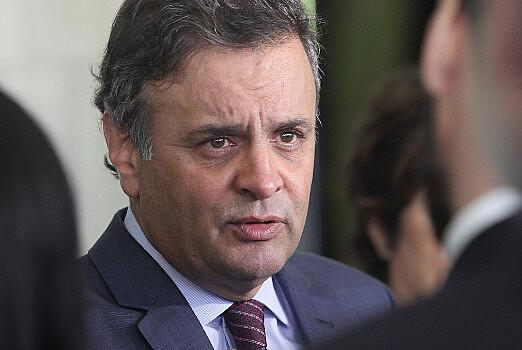 O senador Aécio Neves é réu em processo penal por corrupção e obstrução de Justiça