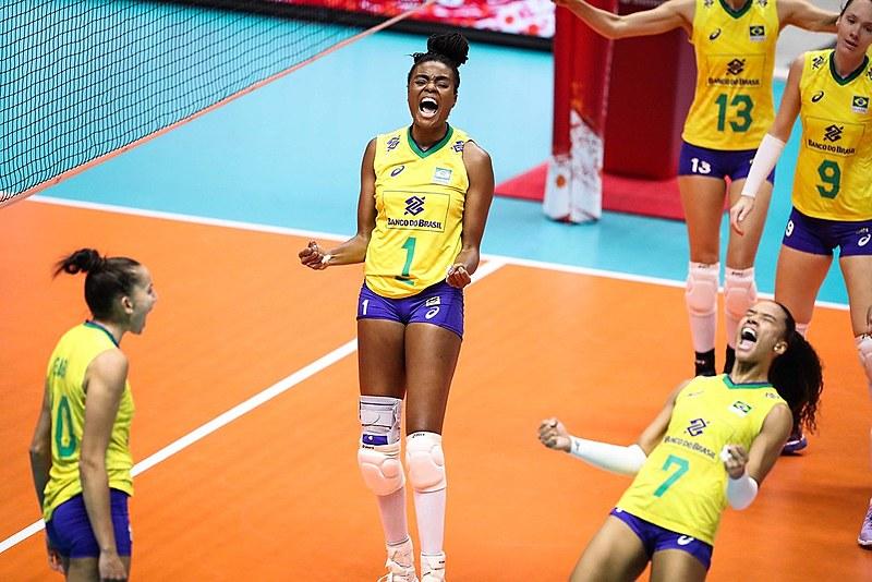 Equipe brasileira venceu o Japão por 3 sets a 0