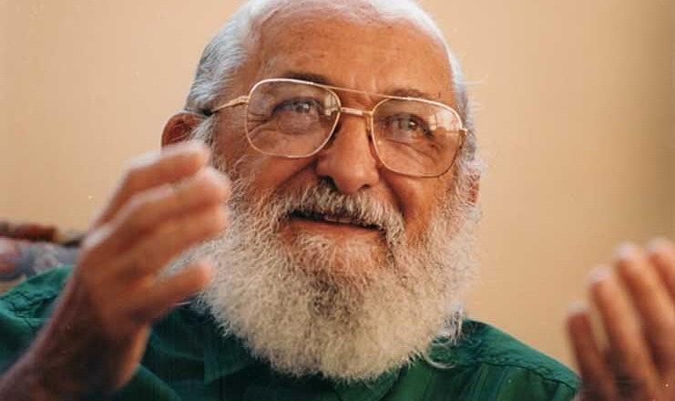 Paulo Freire nasceu em 19 de setembro de 1921, em Recife (PE)
