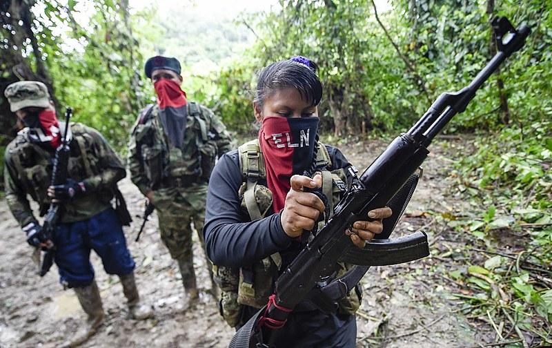 Exército de Libertação Nacional tem atualmente 2,3 mil membros em 16 dos 32 estados colombianos