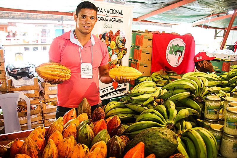 Feira Nacional da Reforma Agrária, organizada pelo MST