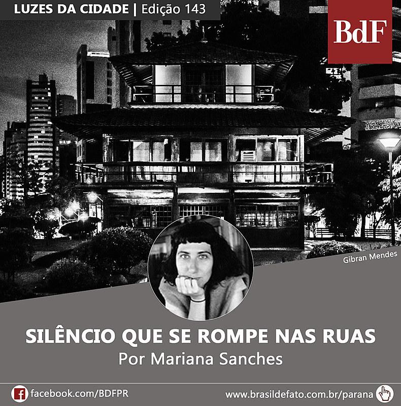Mariana Sanches é colunista do Brasil de Fato Paraná