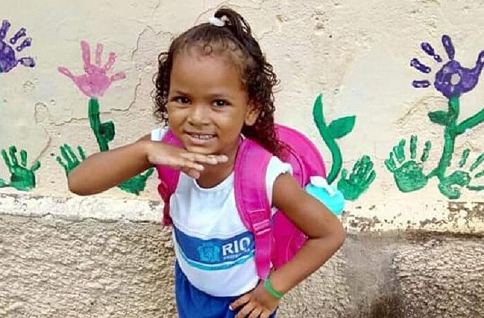 Ketellen Umbelino, de 5 anos, foi levada para o Hospital Municipal Albert Schweitzer mas não resistiu