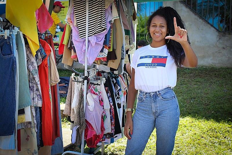 Para a jovem Maria Gabrielly, o ex-presidente Lula deu visibilidade e oportunidades para a população negra