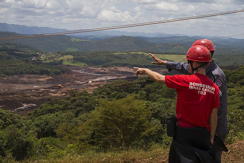 Visita de deputados estaduais de MG às áreas atingidas pelo rompimento das barragens da Mina do Córrego do Feijão, da Vale, em Brumadinho