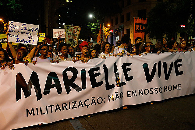"""Marielle's execution will not be used to aggravate the brutal policies that ultimately killed her"""