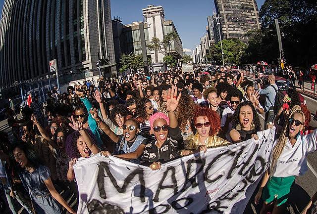 Marcha reuniu cerca de mil pessoas no ano passado; a proposta de empoderamento por meio da valorização dos cabelos crespos