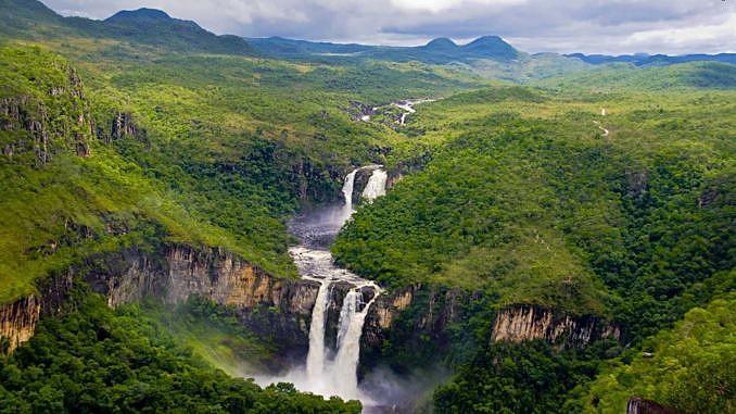 O Parque Nacional Pau Brasil, em Porto Seguro, sul da Bahia