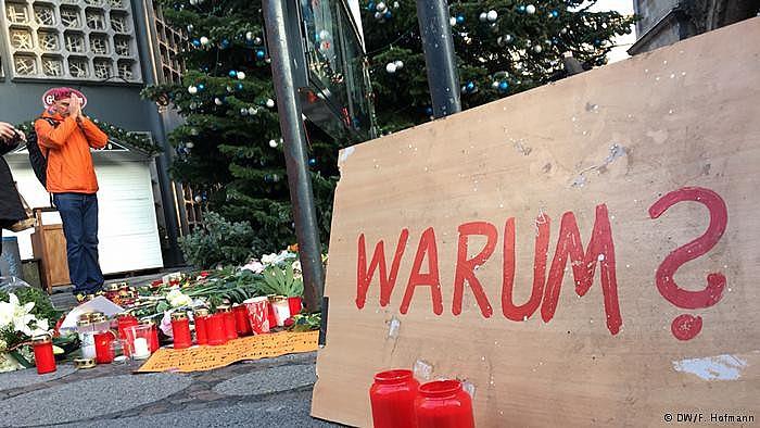 Atentado ocorreu em um mercado natalino na praça Breitscheidplatz, no bairro de Charlottenburg, por volta das 20h (horário local)