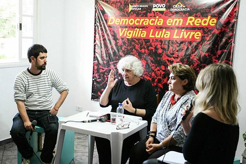 Militante histórica da esquerda brasileira, Clara Ant participa do programa Democracia em Rede