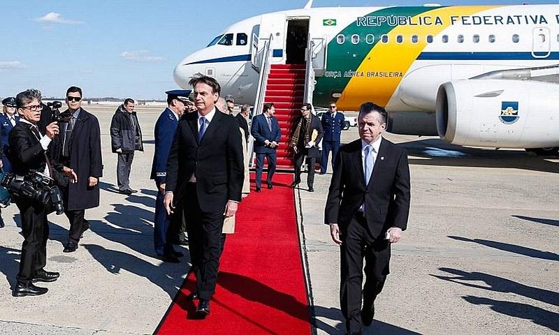 Jair Bolsonaro chega aos Estados Unidos nesse domingo (17), para uma visita de três dias