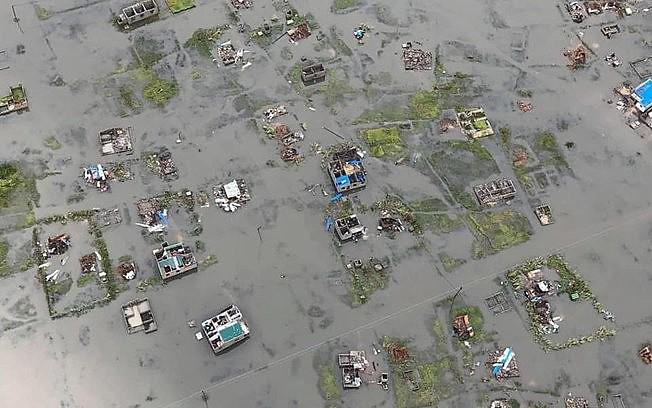 Os efeitos do ciclone Idaí em Moçambique