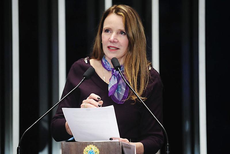 Vanessa Grazziotin (PC do B-AM) foi uma das senadoras a impetrar mandado de segurança no Supremo