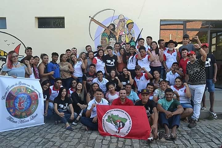 O Curso homenageou Maria Lima uma das matriarcas da luta pela terra no Ceará