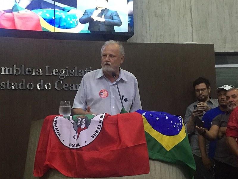 """Sou privilegiado por herdar todo esse patrimônio histórico de luta"""