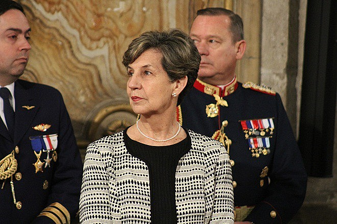 A senadora Isabel Allende, que pretende se candidatar à Presidência do Chile