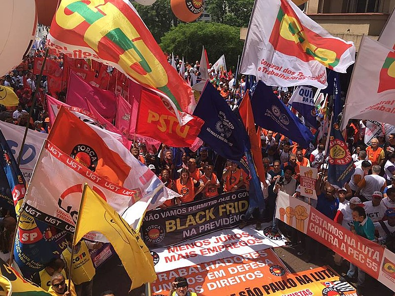 Ao menos seis centrais sindicais participarão de manifestação nesta sexta (25)