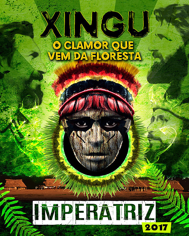 "Enredo ""Xingu, o clamor que vem da Floresta"", da Escola de Samba Imperatriz Leopoldinense, fala sobre luta pela terra"