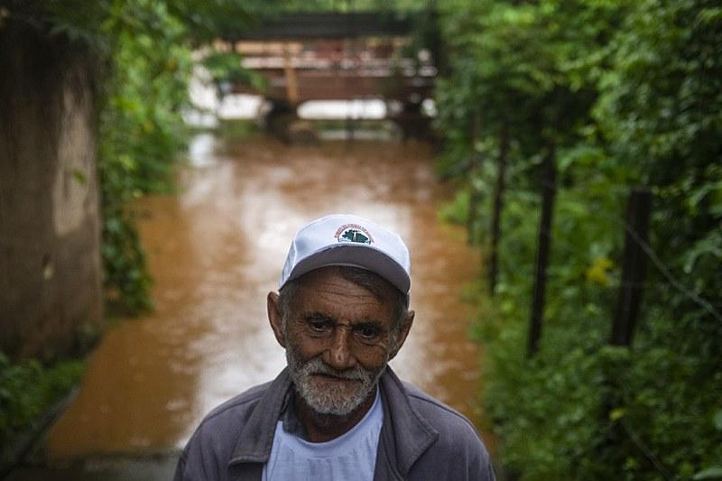 Dos 76 anos de vida, 40 Sebastião Adão da Cunha passou à beira do Paraopeba, 25 deles como pescador