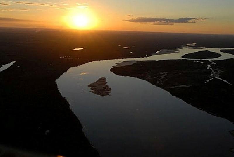 Rio nasce em Goiás e desagua no Pará, passando por Mato Grosso e Tocantins