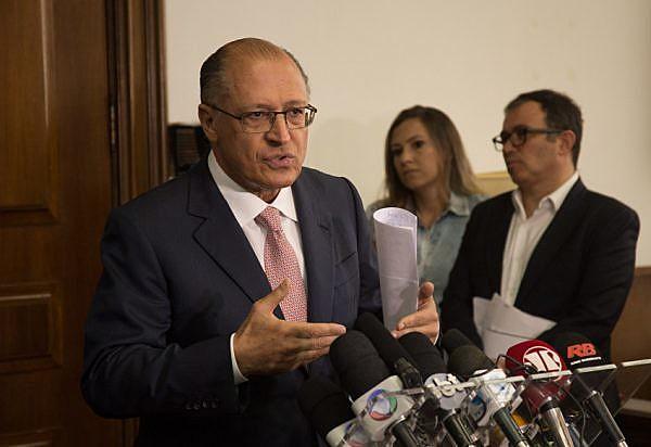 Geraldo Alckmin (PSDB), em seu segundo mandato seguido como governador de São Paulo, pedalou com recursos do Metrô