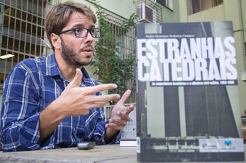 """Pedro Henrique Campos: """"Na ditadura, tivemos um cenário ideal para práticas ilegais"""""""